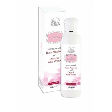Шампоан за боядисана коса с розово абсолю Alba