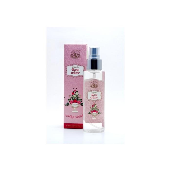 Био розова вода пулверизатор Alba