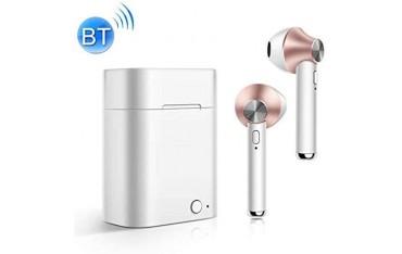 Аудио слушалки TWS POPUPE D012A, Безжични, Bluetooth 5.0