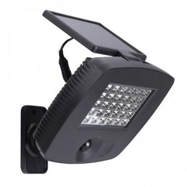 Соларен прожектор с подвижен панел Plastic SS-SW024