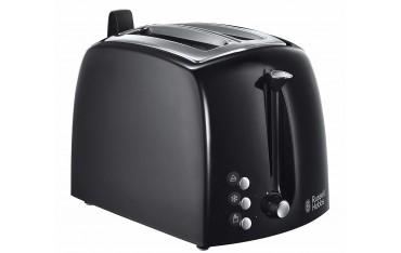Тостер Russell Hobbs 22601 56, 1000 W, За филии, сандвичи,кифлички,Черен
