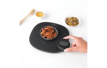 Дигитална кухненска везна Brabantia, Без батерии, до 5 кг, Стъклена