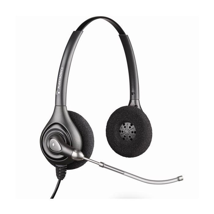 Бинаурални слушалки Plantronics SupraPlus HW261H