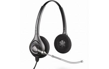 Бинаурални слушалки Plantronics SupraPlus HW261H, Кабелни