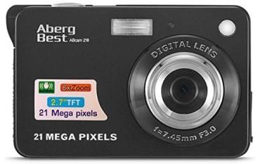 Цифров фотоапарат AbergBest abcam 218, 21 Mpx, 2.7 LCD, Цифрова камера