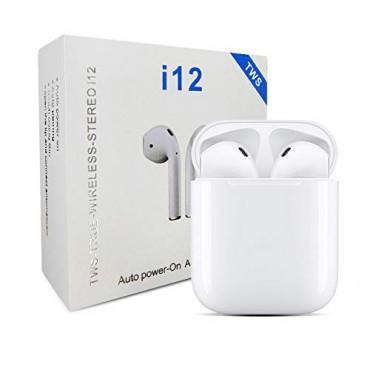 Безжични слушалки i12 TWS