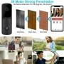 Интелигентен безжичен визуален звънец Micasa V10