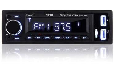 MP3 плеър за кола с дистанционно управление ieGeek IK CP301