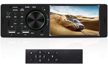 Радио за автомобил bedee cr 5214, HD 4,1'', MP5, Hands-Free, FM , USB, AUX, SD