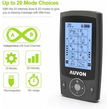 Двуканална машина за,мускулни стимулатор AUVON AS8012041