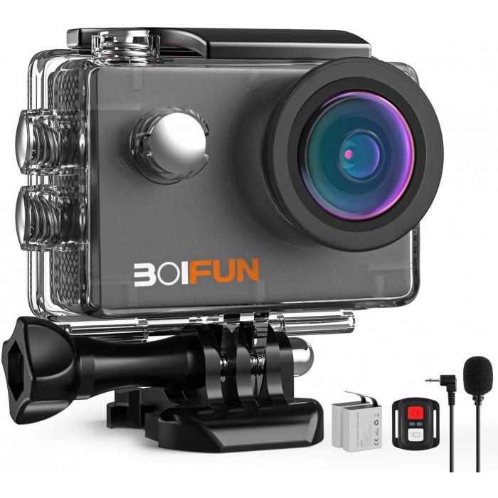 Спортна Wi-Fi камера с външен микрофон BOIFUN bf spc01