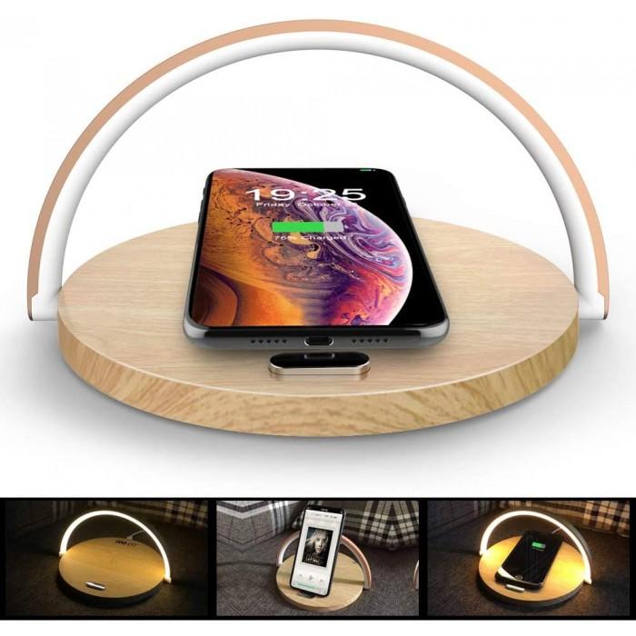 безжично зарядно устройство с LED светлина Coowoo