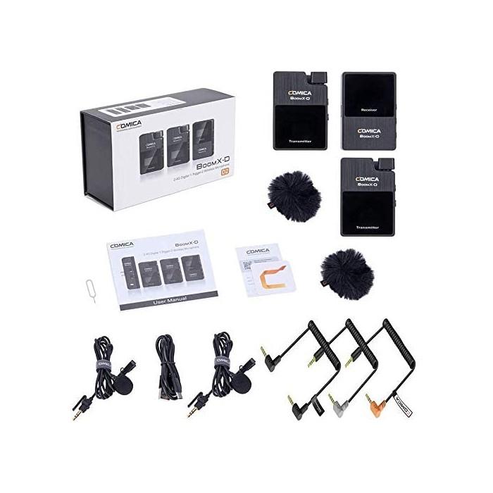 безжична система за микрофон Comica BoomX-D D2