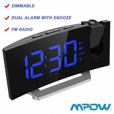 Прожекционен будилник Mpow hm353a