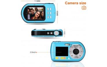 """Камера за подводни снимки GordVE S1, 2,7"""" екран, Водоустойчивост до 10м"""