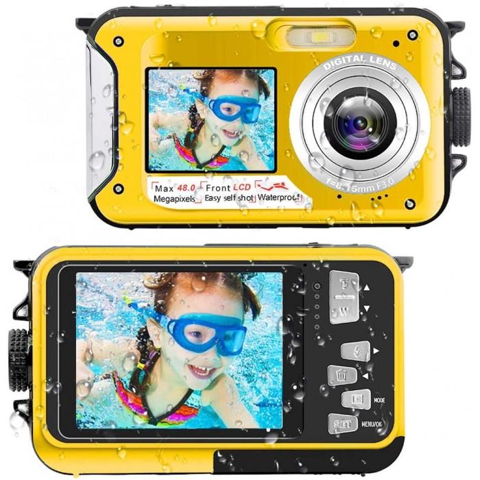 Потопяема камера FHD 2.7K 48MP YISENCE 806BC