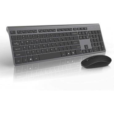 Елегантна безжична клавиатура и мишка JOYACCESS