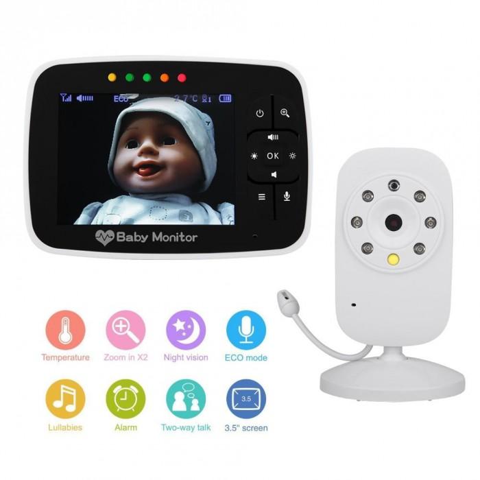 Бебешки монитор WALFRONT sm35tx
