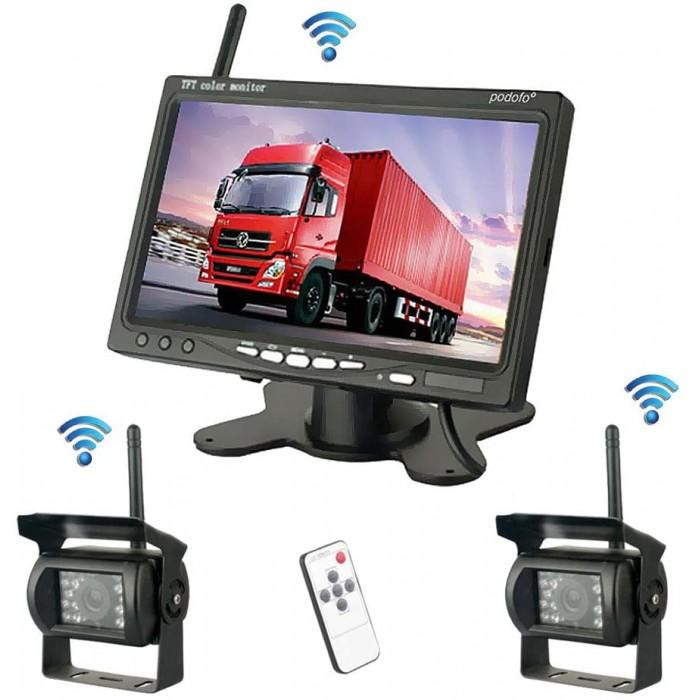 Комплект цифрови безжични резервни камери podofo K0082MX