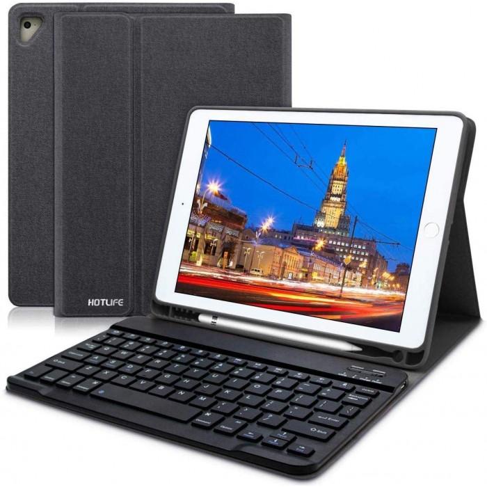 Портативният калъф с безжична клавиатура HOTLIFE