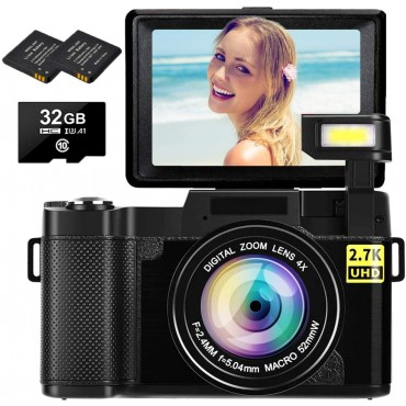 Цифров фотоапарат 2.7K SEREE G06C