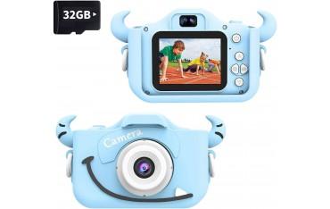 "Фото видео камера Wurkkos, 2""екран, Синя"