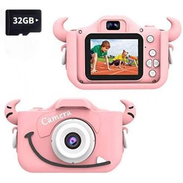 "Фото видео камера Wurkkos, 2""екран, Розова"
