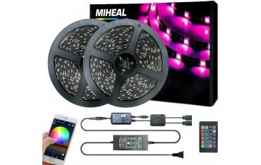 LED лента Miheal HAO030, WiFi, Smart, Phone Control, 20 м