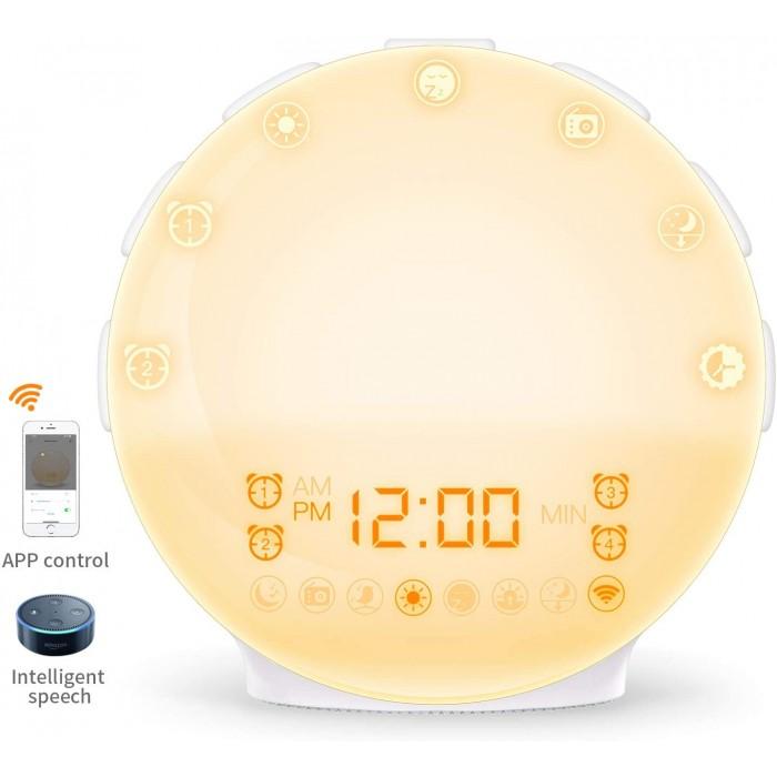 Цифров часовник с будилник COULAX
