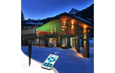Лазарен прожектор Innoo Tech in3-003, Коледни светлини, обхват до 15м