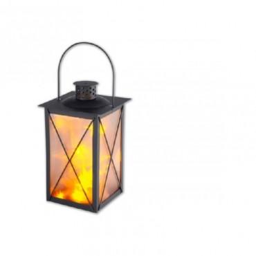 Метален фенер с LED инсталация DEKO