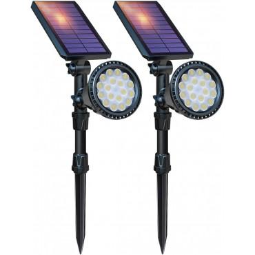 LED водоустойчиви слънчеви прожектори DBF