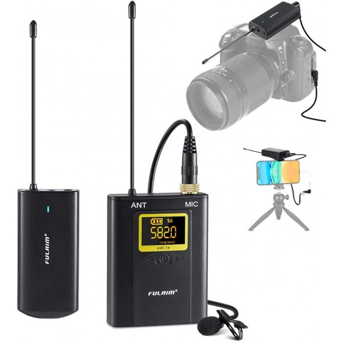 Безжичен микрофон UHF FULAIM WM300