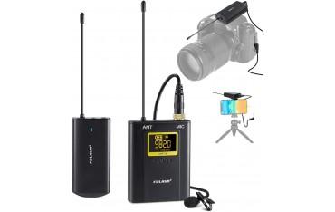 Безжичен микрофон FULAIM WM300, UHF