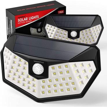 LED слънчеви лампи със сензор за движение WDTPRO swl-064a