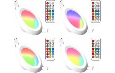 RGBW осветителни тела LemonBest, За вграждане