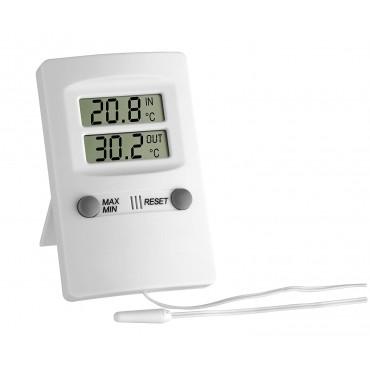 Цифров термометър за вътрешен и външен монтаж