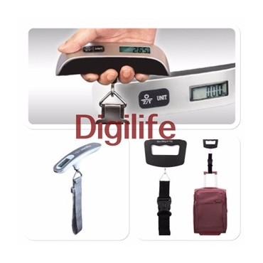 Кантар за измерване на багаж, до 50 кг,LCD дисплей