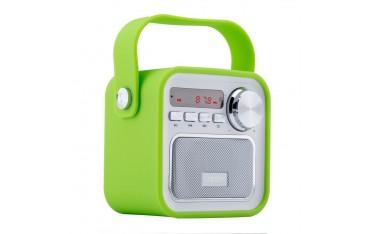 Високоговорител UZOPI, 5 W, FM радио, Вграден микрофон, USB, Дистанционно