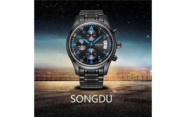Кварцов часовник SONGDU мъжки