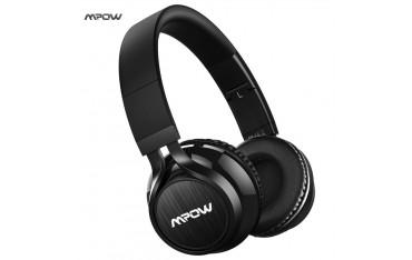 Аудио слушалки Mpow mpbh036bb, Bluetooth, сгъваеми