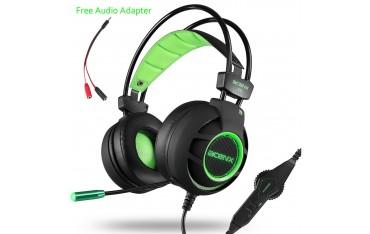 Аудио слушалки Acenx K11, Гейминг, LED, съраунд звук