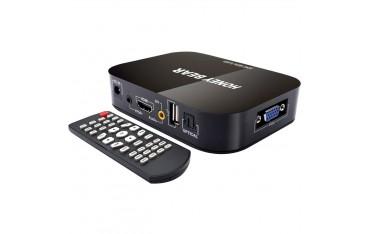 Медия Плеър Honey Bear, Full HD, външен твърд диск, HDMI, AV, USB, VGA, SD / MMC порт