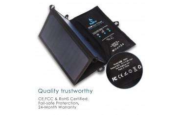 Зарядно слънчево BigBlue, 5V ,21 W, за iPhon, телефони