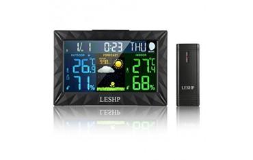 Метеостанция LESHP, прогноза, аларма, LED