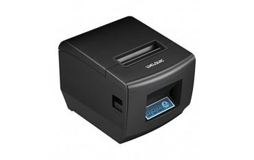 Принтер WELQUIC, за баркодове, AUTO-CUT, за магазини,ресторанти, скорост на печатдо 300 мм/сек,черен