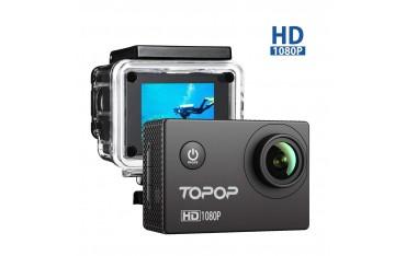Спортна камера TOPOP ,12MP, водоустойчива до 30м
