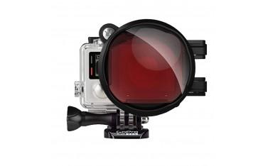 Подводен филтър GoPro Fantaseal Professional 2 в 1, Червен филтър ,16X Macro обектив