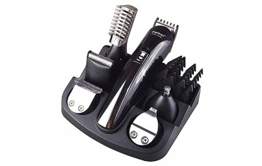 Комплект машинка за постригване, бръснене, тример NIKAI