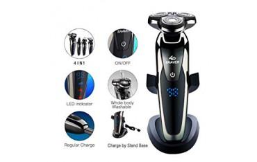 Електрическа машинка за постригване и бръснене Shaver RQ9000 , 4 в 1, водоустойчива